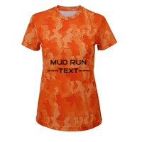 Ladies Performance Camo T-shirt - Customisable