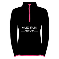 Ladies Performance 1/2 Zip Sweatshirt - Customisable