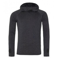 Cowl Neck Fitted Fitted Hoodie
