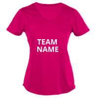 Ladies Team V-Neck T-shirt