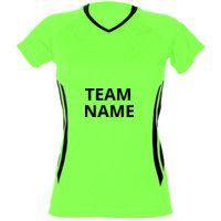 Ladies Team T-shirt - Fluoro