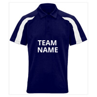 Team Polo Shirt - Contrast Sleeves