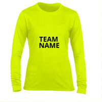 Ladies Team Long Sleeve T-shirt
