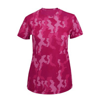 Ladies Performance T-shirt - Camo Style