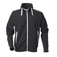 Performance Zipped Jacket - Contrast Drawstrings