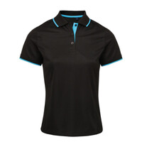 Ladies Performance Polo - Contrast Neck and Collar