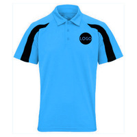 Performance Polo Shirt - Contrast Sleeves