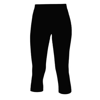 Ladies 3/4 Length Athletic Pants - Performance Fabric Thumbnail