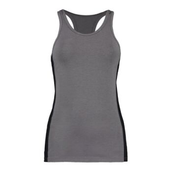 Ladies Racer Back Mesh Side Panel Vest - Performance Fabric Thumbnail